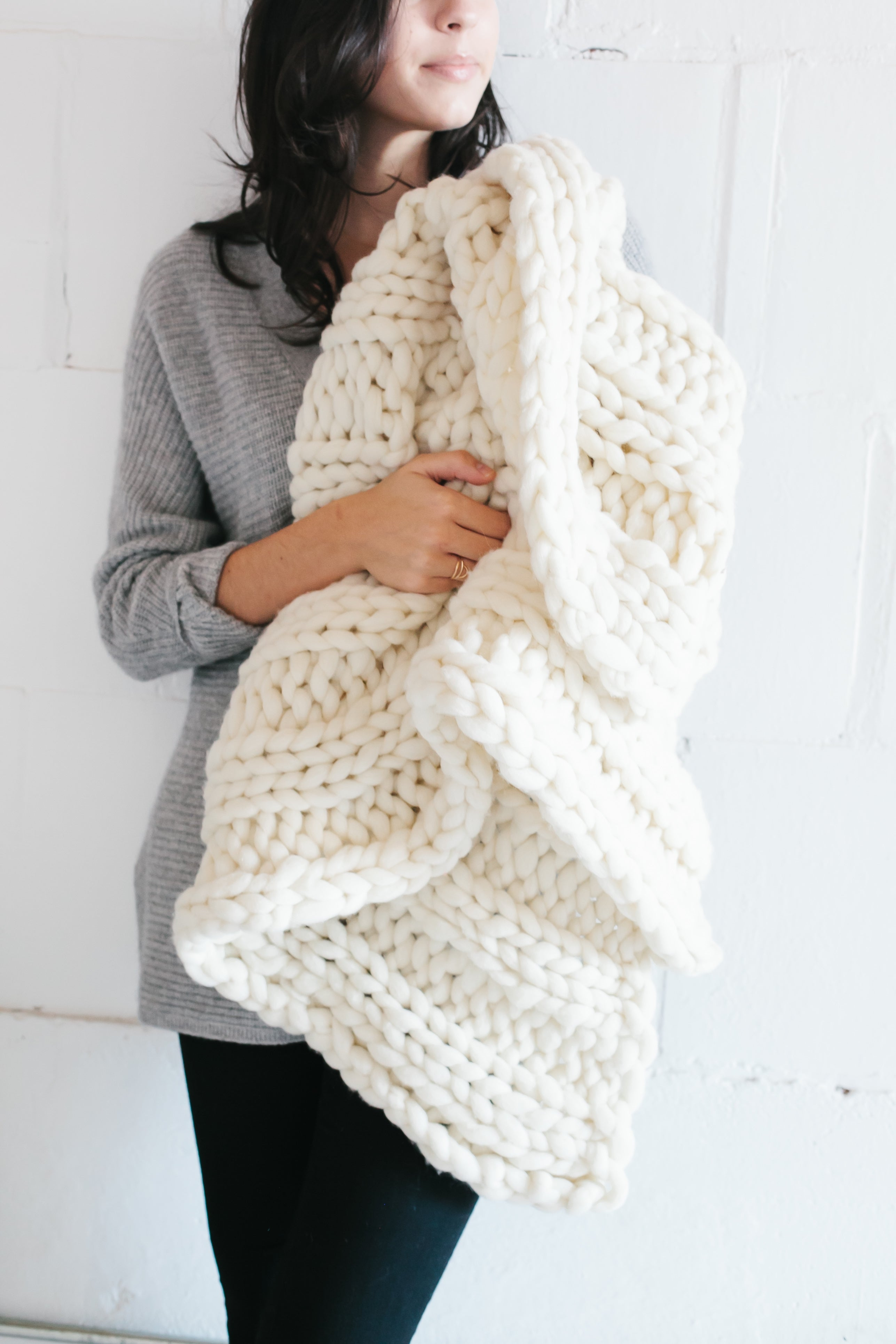CFC *Knitted* Chunky Blanket