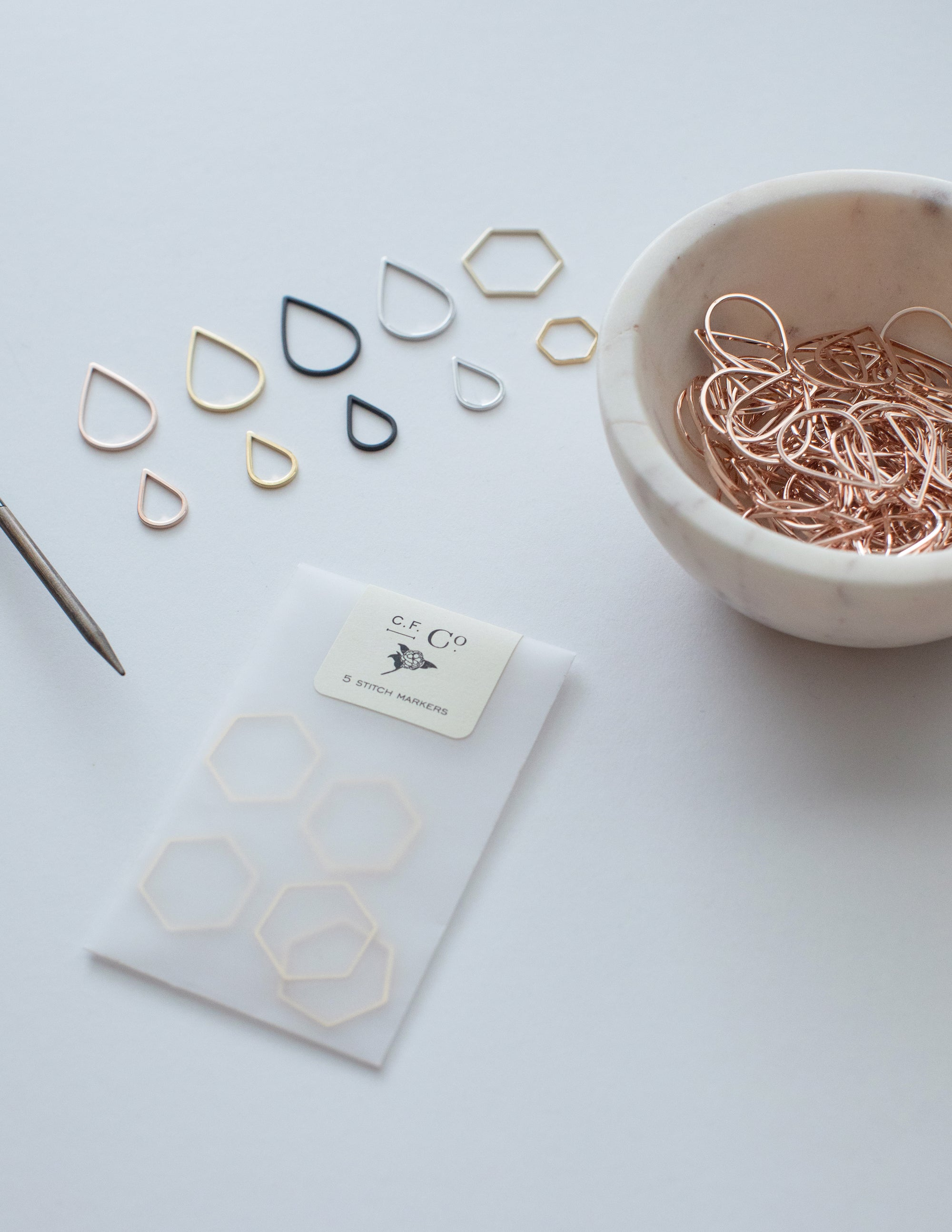Minimal Stitch Markers (Wholesale)
