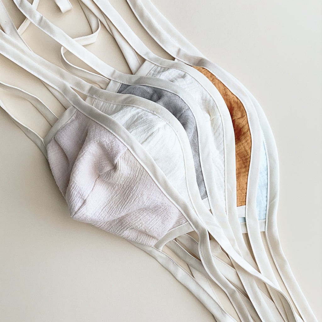Reusable Fabric Masks + Disposable Filters