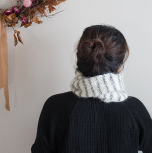 CFC Striped Twisted Cowl Pattern