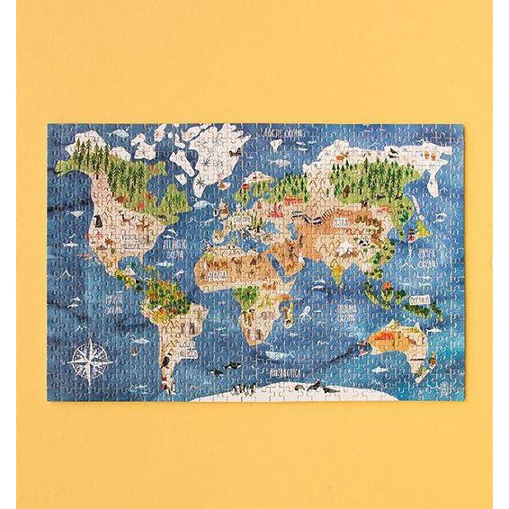Micro Puzzle Discover The World 600 Pieces