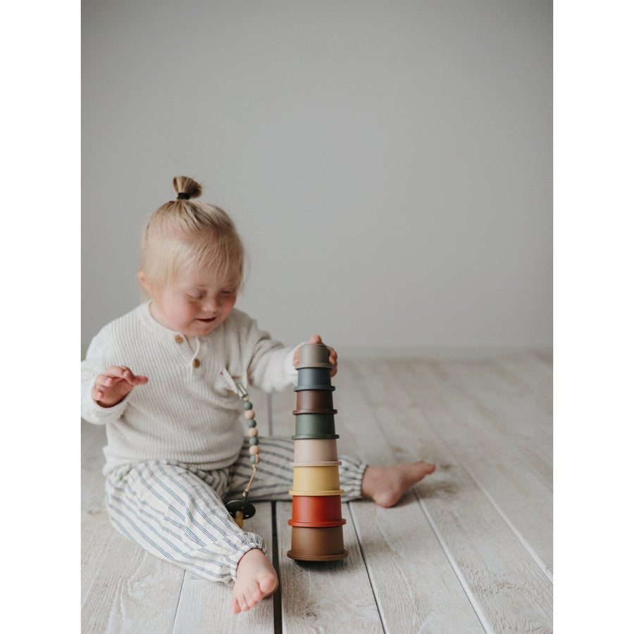 Stacking Cups Toy Retro