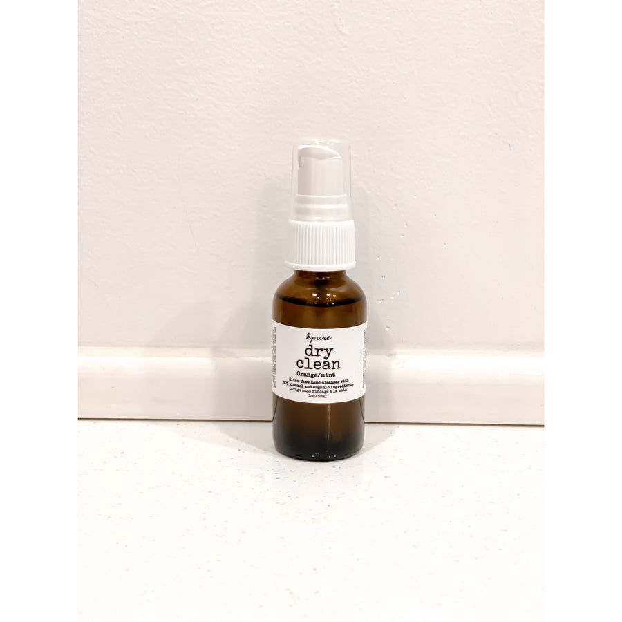 Dry Clean Essential Oil Hand Sanitizer Mist (Two Sizes)