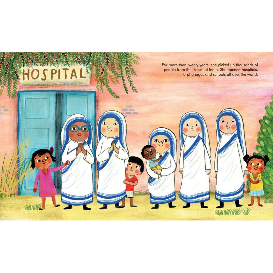 Little People Big Dreams Mother Teresa Hardcover