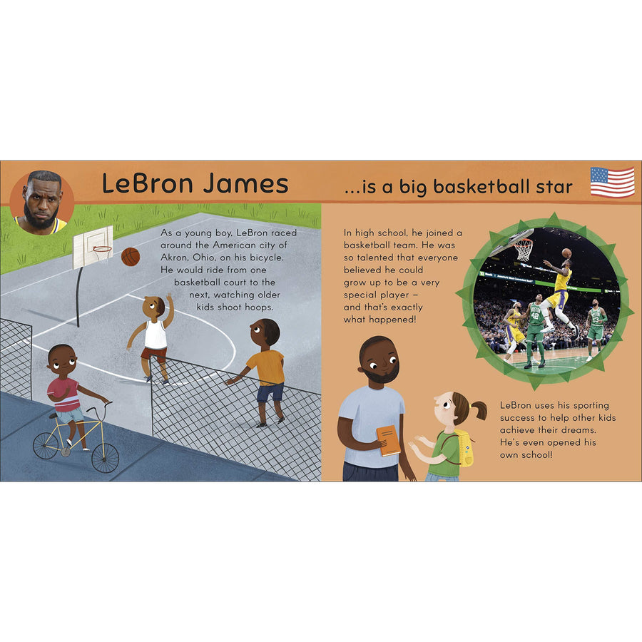 When I Grow Up: Sports Heroes Board Book