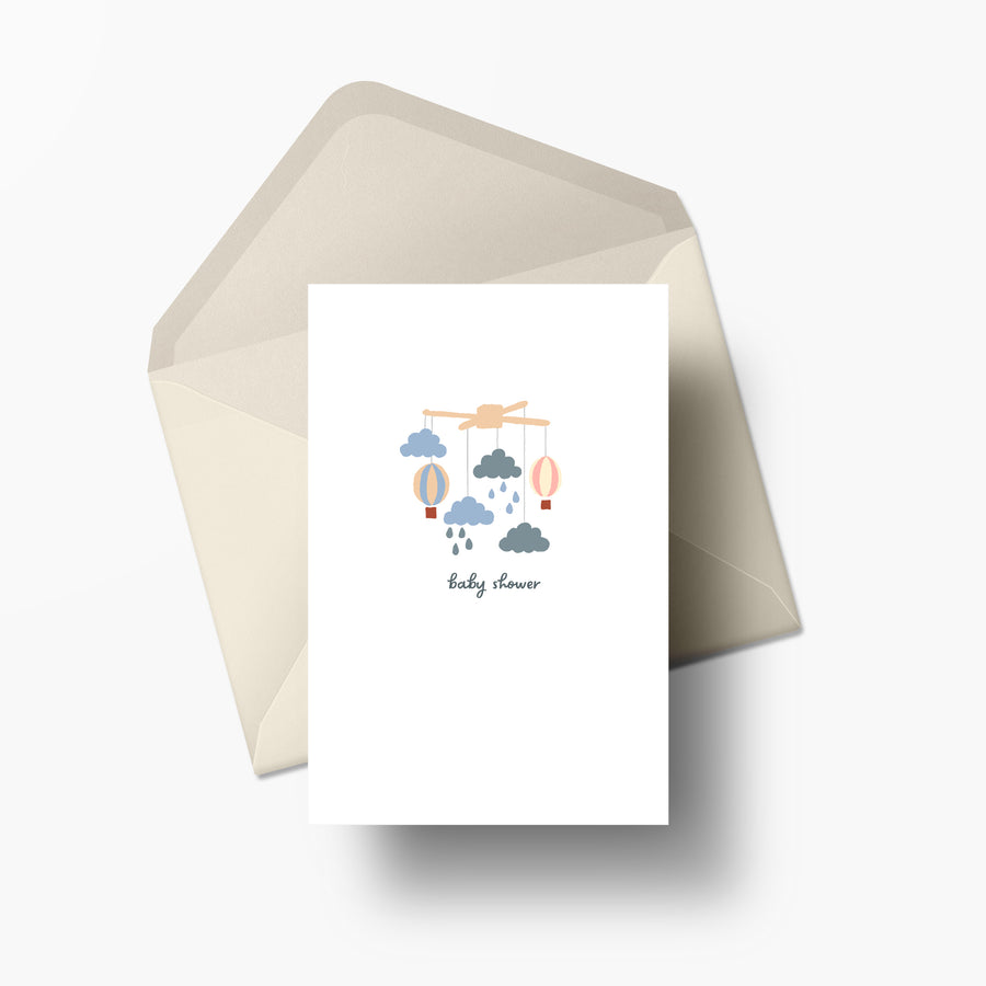 Card Baby Showers