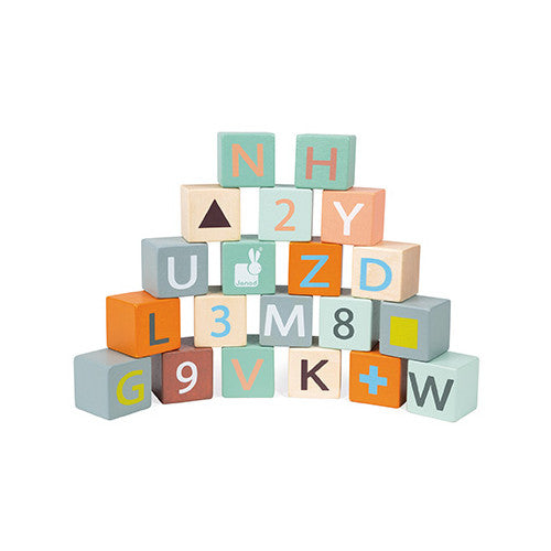 Wagon With ABC Blocks
