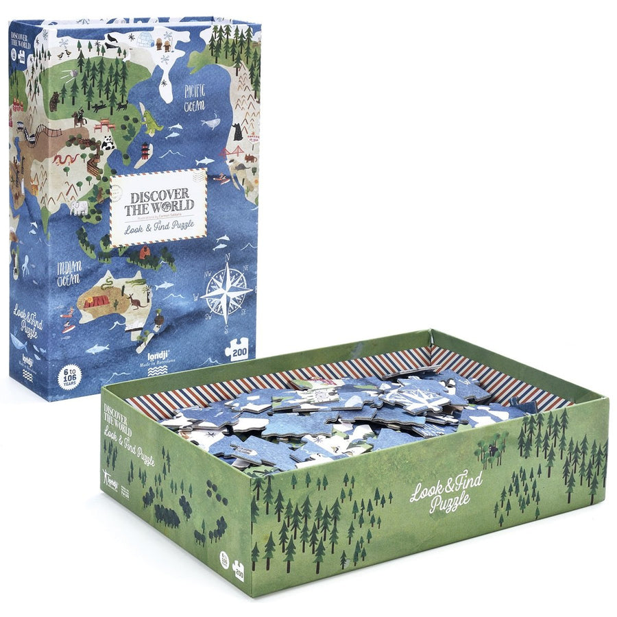 Puzzle Discover The World 200 Pieces