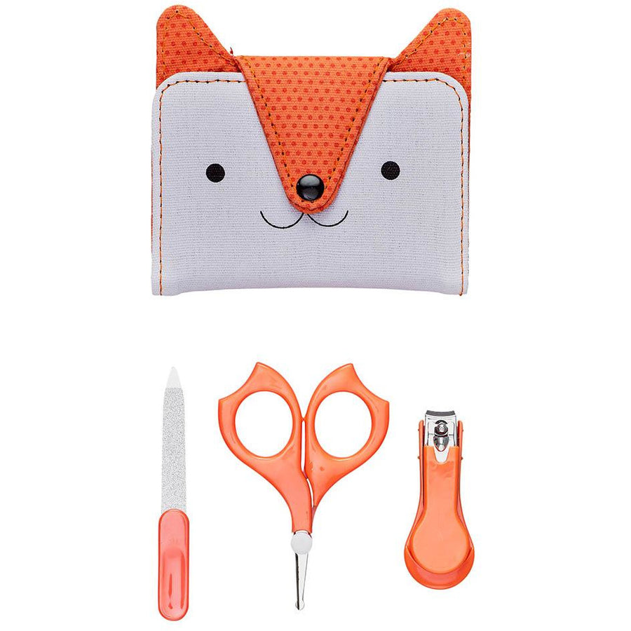 Baby Manicure Set With Fox Case
