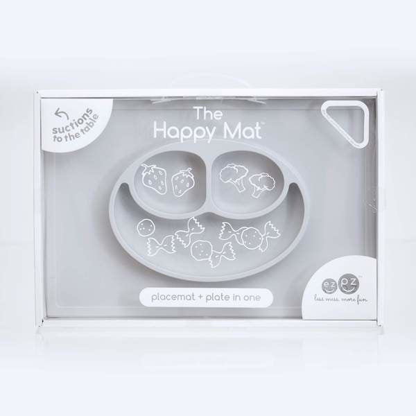 Happy Mat Pewter