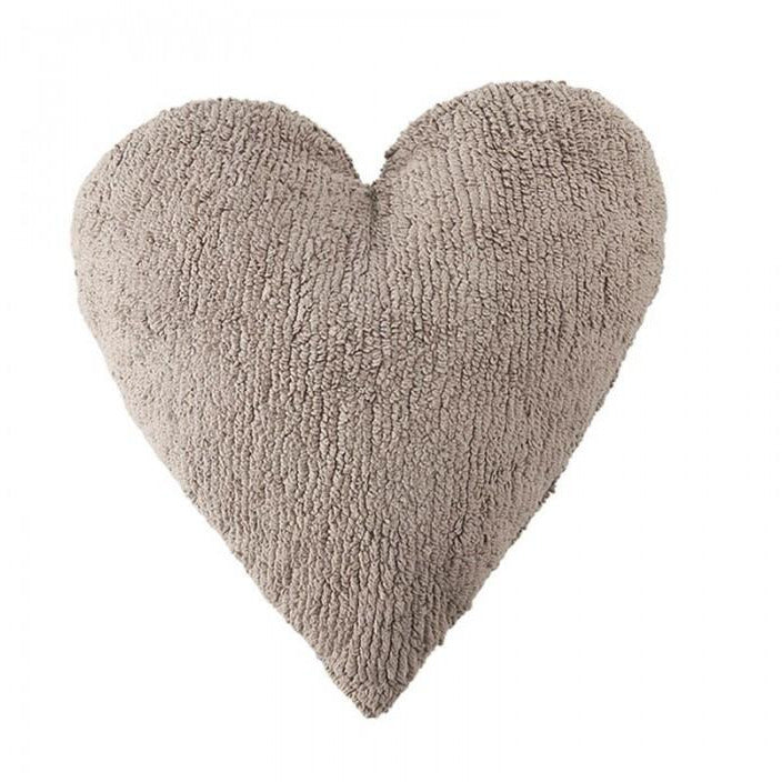Washable Pillow Linen Heart