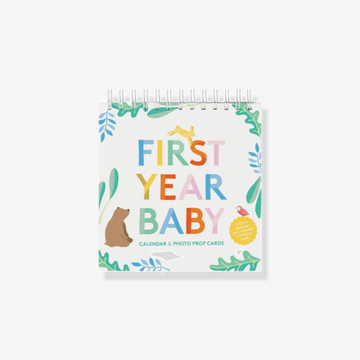 First Year Baby Calendar And Photo Prop Cards