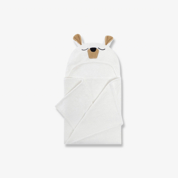 Hooded Towel Polar Bear