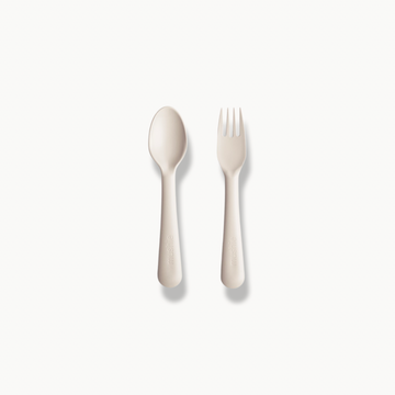 Fork + Spoon Ivory