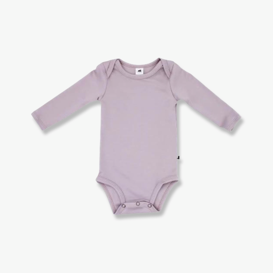 Long Sleeve Onesie Mauve