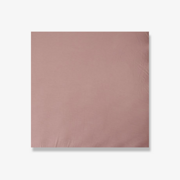 Stretch Crib Sheet Dusty Rose