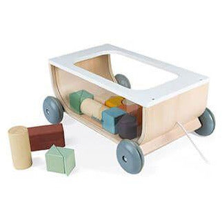 Cart With Blocks