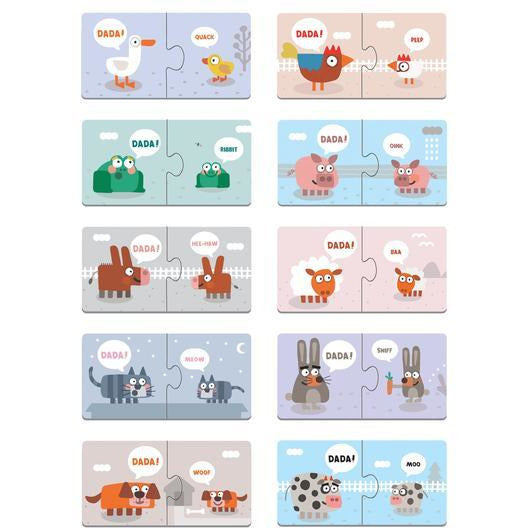 Your Baby's First Word Dada Puzzle Pairs