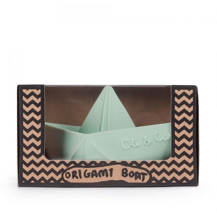 Bath Toy Origami Mint