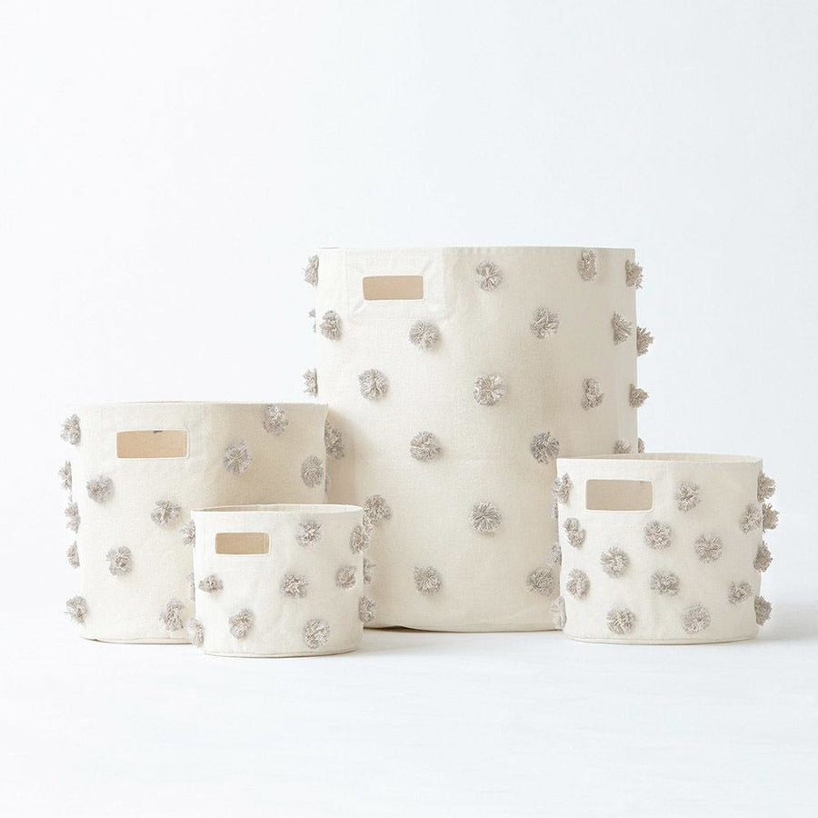 Pint Storage Grey-Pom
