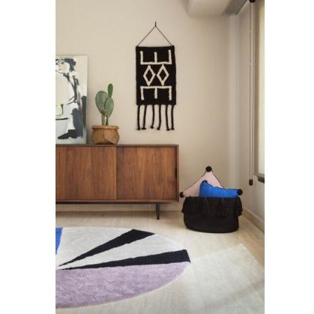 Wall Hanging Bereber Black - Curated Cradle