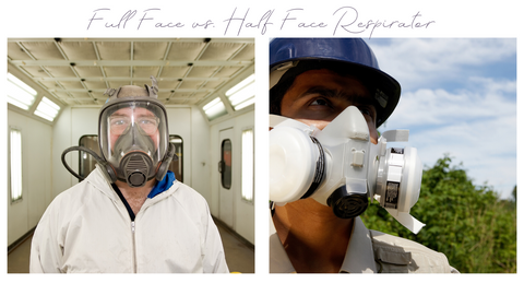 half face vs full face respirator