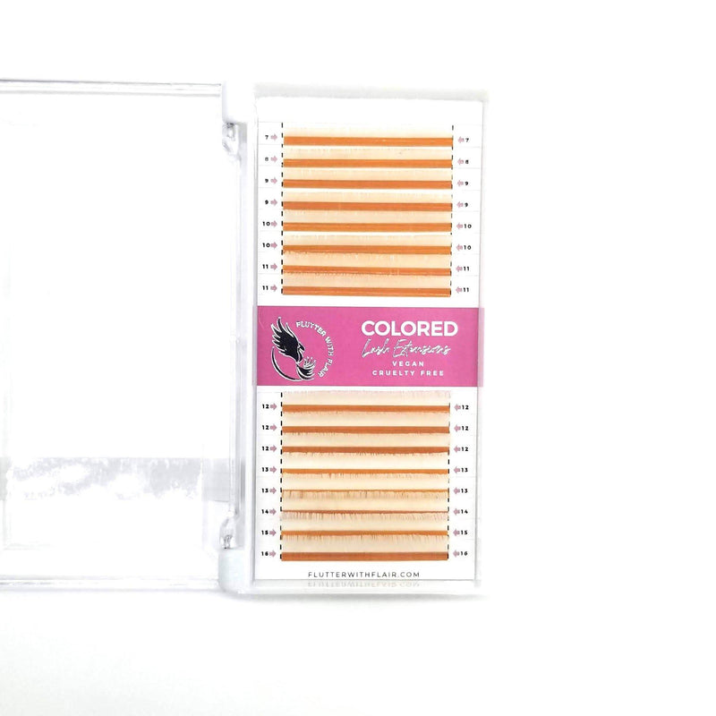 0.07 Colored Lashes | Mixed Length