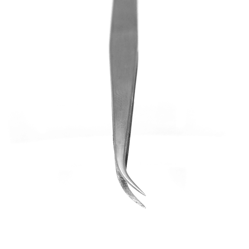 curved lash tweezer