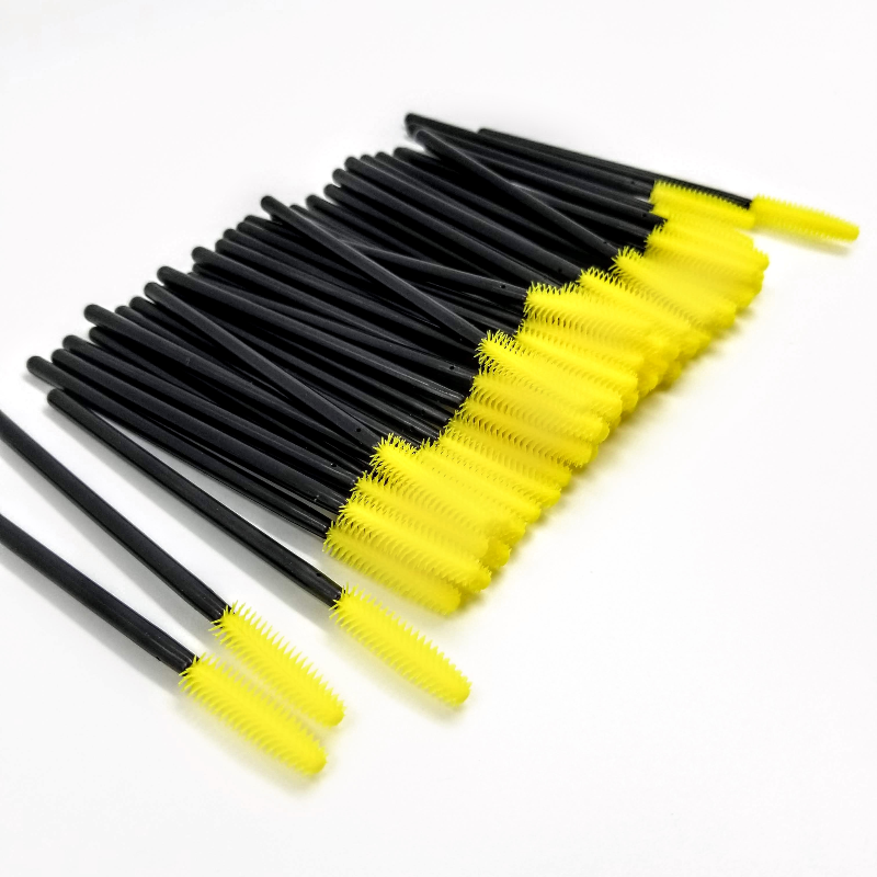 Silicone Mascara Wands (50 Pcs/ Pack)