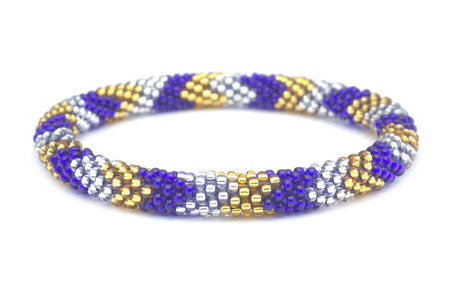 Sashka Co. Bracelets - Blue/Gold/Clear