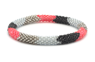 Sashka Co. Bracelets - Red/Black/Silver