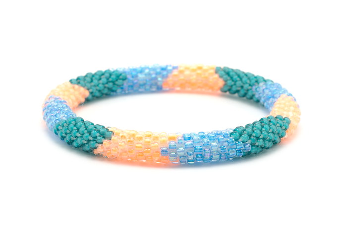 Sashka Co. Bracelets - Teal/Orange/Blue