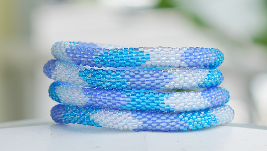 Sashka Co. Bracelets - Blue/Clear