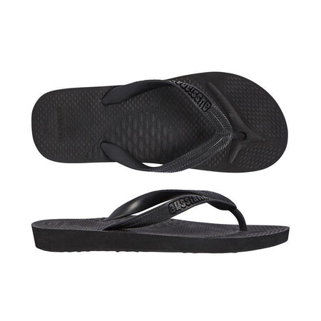 Starfish Orthotic Thongs - Black