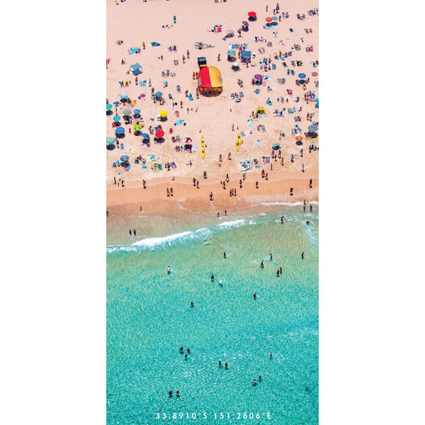 Aussie Summer | A typical Aussie summer scene. All the vibrant colours that scream out summer on an Australian beach!