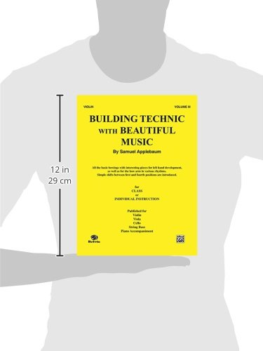 Building Technic With Beautiful Music, For Violin, Vol.Iii