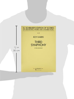 Third Symphony In One Move Ment (Study Score 22) (G. Schirmer'S Edition Of Scores Of Orchestral Works And Chamber Music)