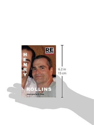 Henry Rollins (Re/Search Pocketbook)
