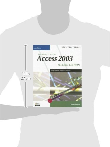 New Perspectives On Microsoft Office Access 2003, Comprehensive, Second Edition (New Perspectives (Course Technology Paperback))