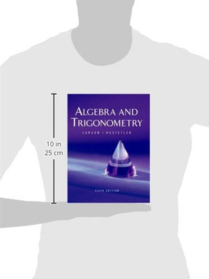 Algebra And Trigonometry, 6Th Edition