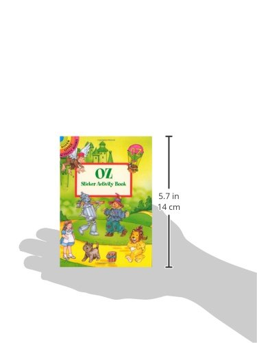 Oz Sticker Activity Book (Dover Little Activity Books Stickers)