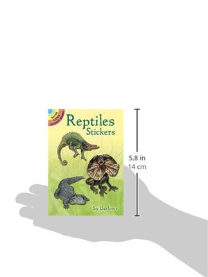 Reptiles Stickers (Dover Little Activity Books Stickers)