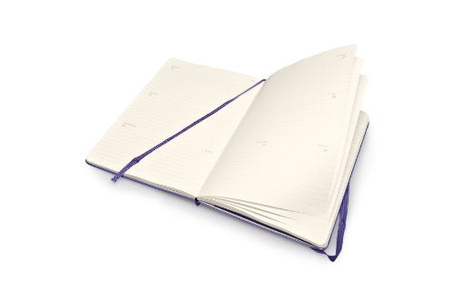 Moleskine 2015 Weekly Planner, Horizontal, 12 Month, Large, Brilliant Violet, Hard Cover (5 X 8.25) (Moleskine Diaries)