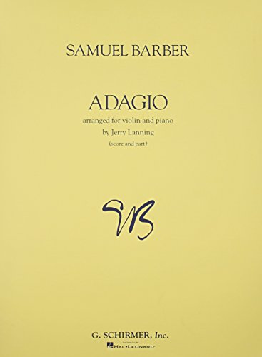 Adagio For Violin And Piano