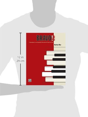 Bravo!, Bk 1: 7 Intermediate To Late Intermediate Piano Solos With Spirit And Flair
