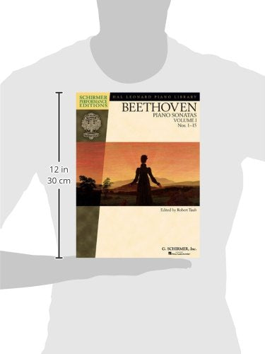 Beethoven - Piano Sonatas, Volume I - Book Only: Nos. 1-15 (Schirmer Performance Editions) (Hal Leonard Piano Library)