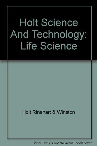 Holt Science & Technology: Study Guide Life Science