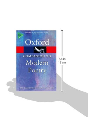 The Oxford Companion To Modern Poetry (Oxford Quick Reference)