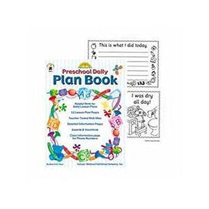 Preschool Daily Plan Book