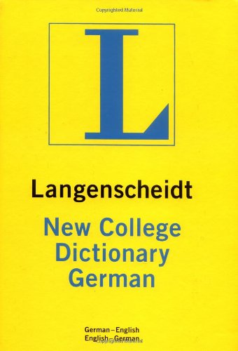Langenscheidt New College German Dictionary: German-English - English German Thumb-Indexed